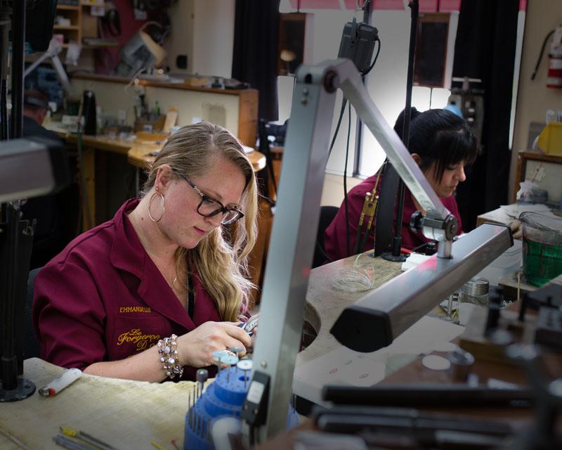 L'atelier | Le Forgeron D'or - bijoueterie & joaillerie