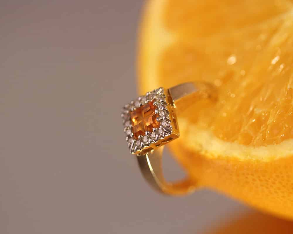 Bague et orange - Concours 2017 | Le Forgeron D'or - bijoueterie & joaillerie