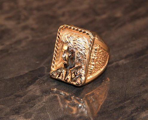 Sur mesure: bague Elvis | Le Forgeron D'or - bijoueterie & joaillerie