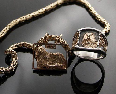 Sur mesure: reproduction chien | Le Forgeron D'or - bijoueterie & joaillerie